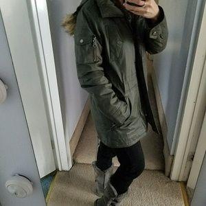 Victoria's Secret Jackets & Coats - Victoria's Secret Army Green Parka